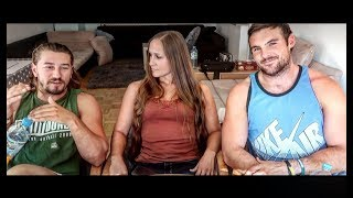Two American Guys and A German Girl Argue About Their Countries