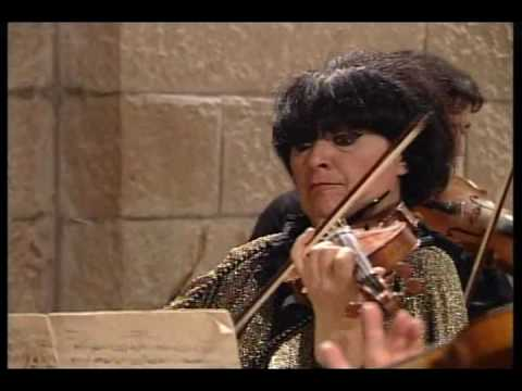 Liana Isakadze - Bach - Concerto For Two Violins (3rd Mov.)