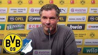 Reus fällt aus, Hoffnung bei den BVB-Keepern | PK mit Zorc | Borussia Dortmund - TSG Hoffenheim
