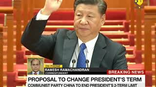 China president for life