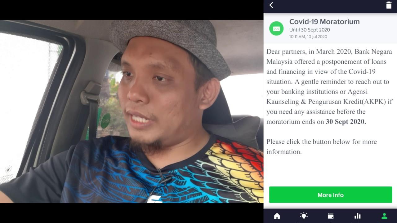 GRAB (Malaysia) - PERSEDIAAN PENGHUJUNG MORATORIUM