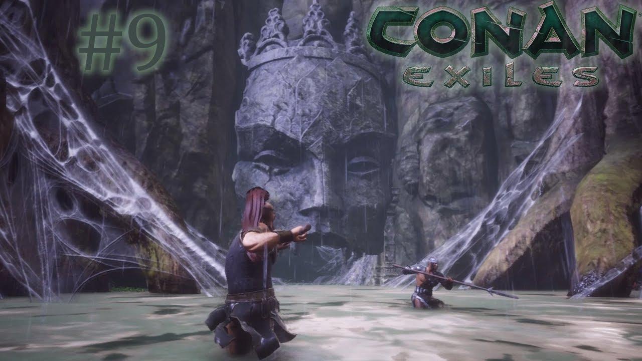 Conan Exiles - Secret Jungle Cave Leading to the Frozen North - Full  Release E9