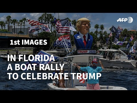US-Trumptilla-boat-parade-honors-Trump-on-his-birthday-AFP