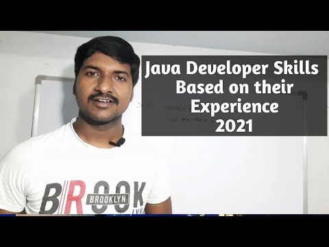 How to Learn Java 2021 |  What are the skills required to become Java Developer 2021