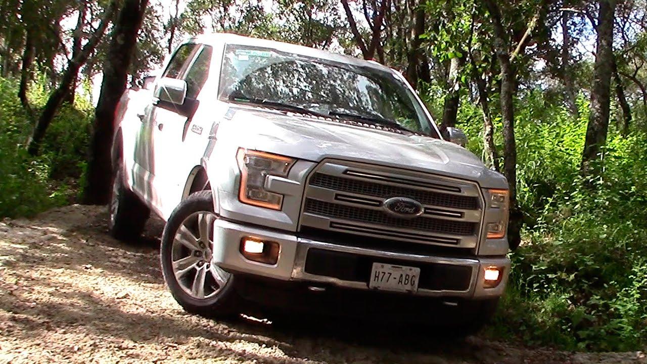 Ford lobo 2015 a prueba en off road autocosmos youtube