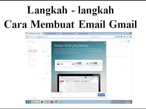 Langkah demi langkah buat email baru menggunakan gmail - update