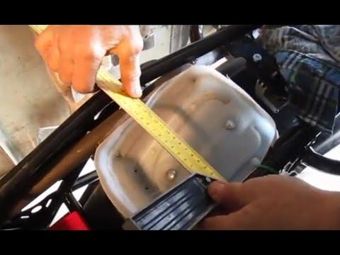 Мотоцикл Скаут-3. Бардачок для инструмента