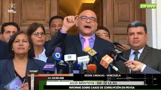 Venezuela- Diputado Julio Montoya se pronuncia ante caso de corrupción de Andorra -VPITV