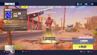 Fortnite Livestream! *Starting a New Job Today* {Free Vbuck Giveaway @ 2.5k Subs}
