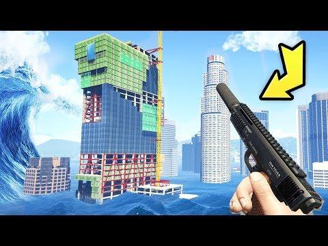 GTA 5 - Tsunami Survival WITHOUT mods!