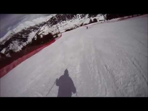 Avet World Cup black slope. Soldeu, Grandvalira. March 2013