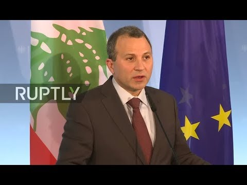 LIVE: Gabriel holds joint press conference with Lebanese FM Bassil
