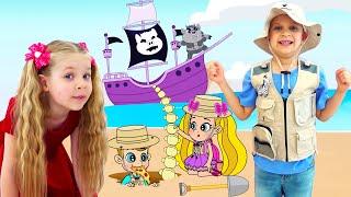 Diana Dan Roma Menyelinap Untuk Membantu Winston  / kartun untuk anak-anak
