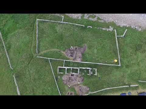 Archeologists uncover possible Viking drinking hall on Scottish island