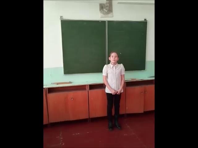 Изображение предпросмотра прочтения – АнжелинаИвашкина читает произведение «Доброта» Е.С.Чубарь