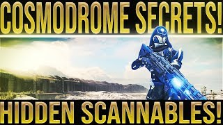 Destiny 2. COSMODROME SECRETS! Thunderlord Quest Scannable Locations. (Destiny 2 Thunderlord Quest)