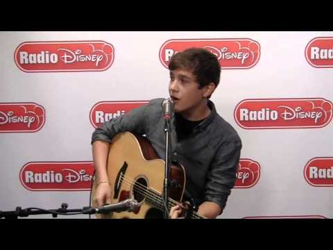 Austin Mahone - Say Somethin (Live on Radio Disney)
