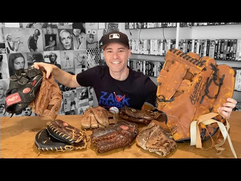 My Baseball Glove Collection -- Custom, MLB Game-used, Oversized, And More!