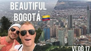 AMAZING BOGOTÁ COLOMBIA! 🇨🇴 The Monserrate Epic Hike // Daily Vlog Trip Ep17 // Bogota City Travel
