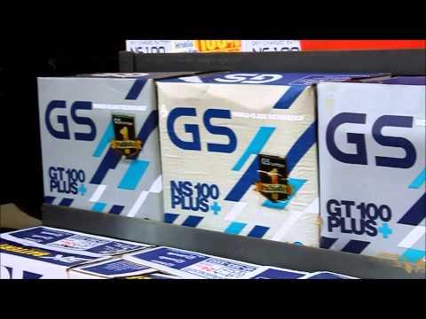 แบตรถยนต์ อำเภอพร้าว ราคาปลีกและส่ง GS - 3K - BATTERY DIESEL THAILAND