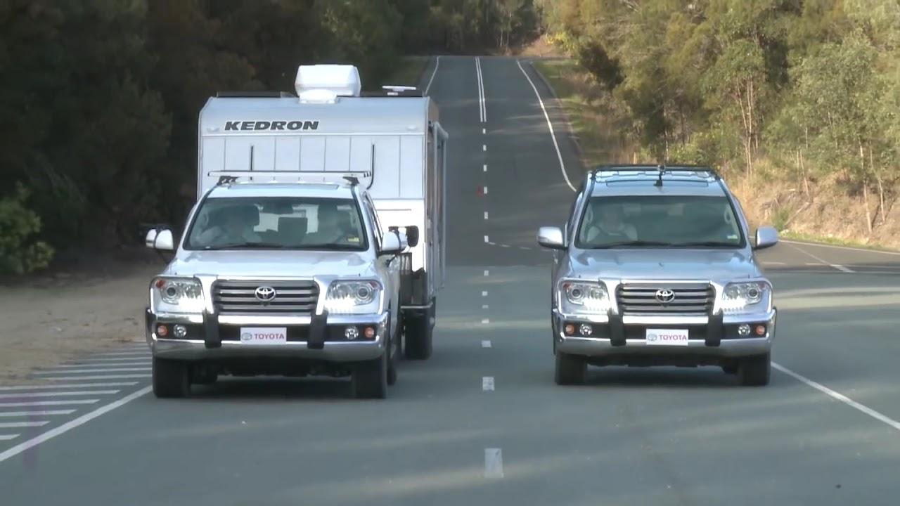 Emergency100km Hr Brake Toyota Landcruiser Lc200 Towing