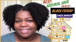 Best Black Owned Natural Hair Product Deals for Cyber Monday / Black Friday 2018!