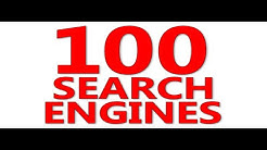100 Search Engines