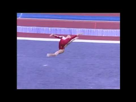 Kayla Hoffman (Rebound) - 2006 US Sr Nationals - Floor (Day 2)