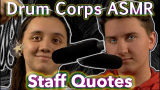 DCI ASMR: Staff Quotes [Explicit]