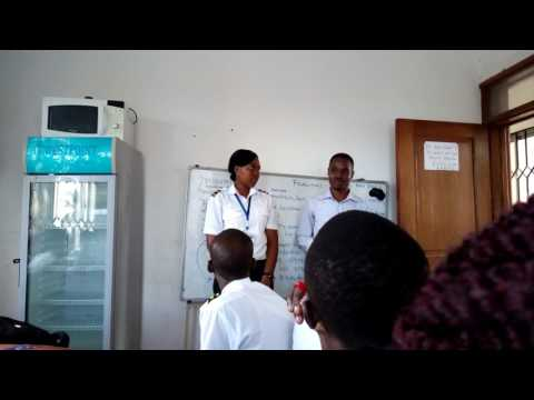 Tanzania  Aviation University   During  french  Lesson 2017(10)