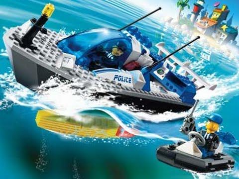 lego city bateau de police lego jouets pour les enfants