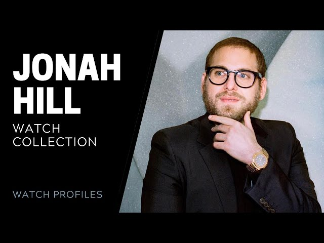 Jonah Hill Watch Collection | SwissWatchExpo [Watch Collection]