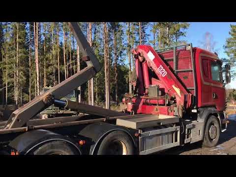 Köp Lastväxlare Med Kran Scania R124 På Klaravik.se
