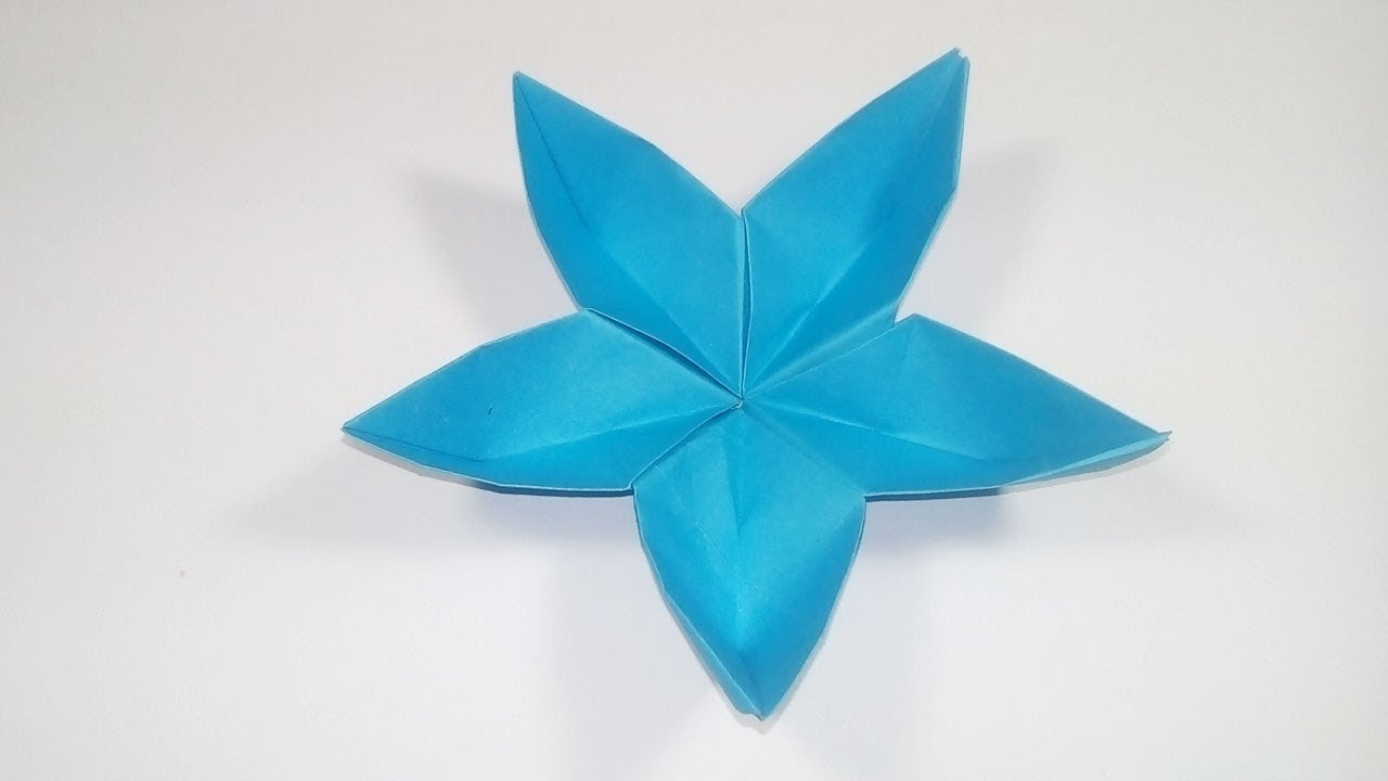 Diy Origami Flower How To Make An Origami Flower With Paper