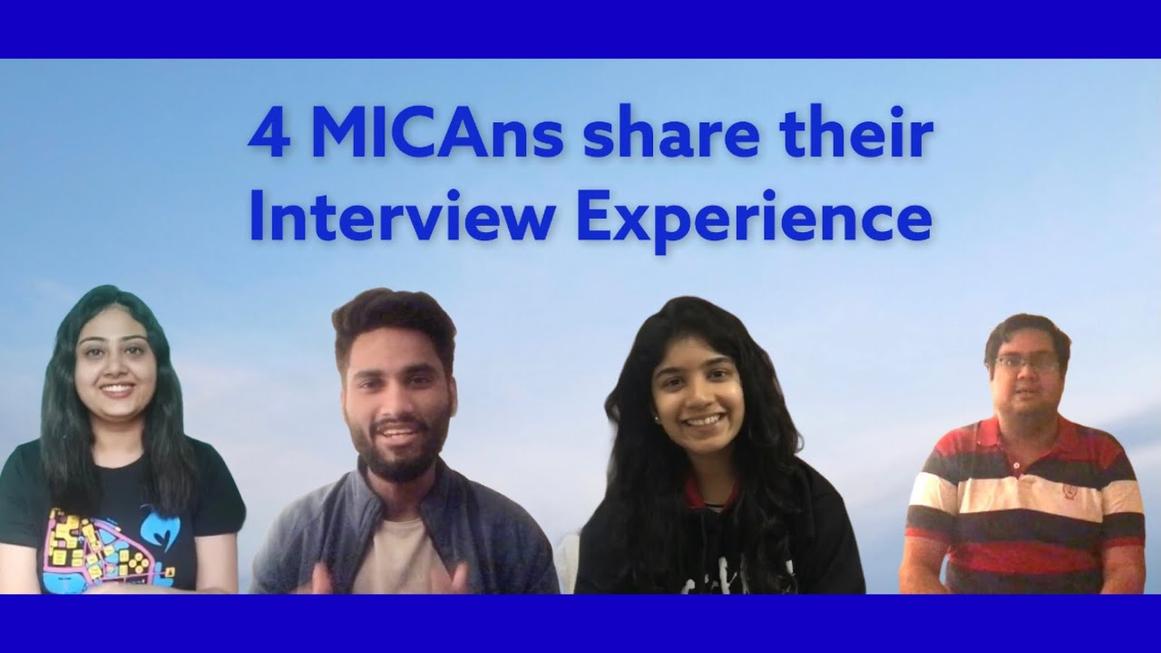 Ep 2 | 4 MICAns share GE PI Experience | MICA Interview Experience | MICA College | #ThisDayLastYear