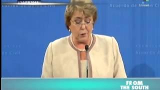 Chilean President Signs Civil Union Law