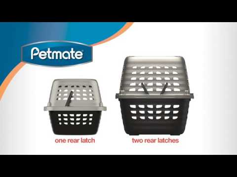 Petmate Compass Kennel: Assembly