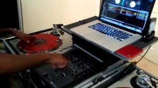 Dj Mista Trixx and Dj Sunny scratch session...