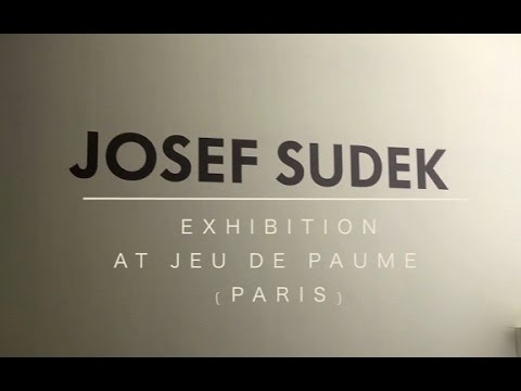 JOSEF SUDEK - The Intimate World of Josef Sudek (EXHIBITION)