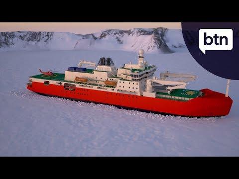 New Antarctic Icebreaker - Behind The News