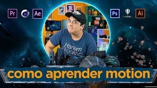 COMO APRENDER MOTION GRAPHICS ? Série VidadeMotion #2