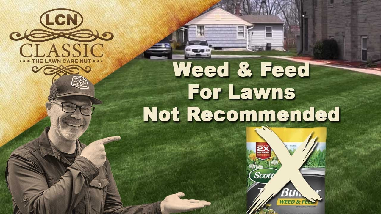 Weed N Feed For Lawns Not Recommended YouTube