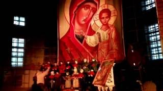 Церковные песнопения в Спасском соборе