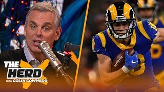 Colin Cowherd plays the 3-Word Game after NFL Week 8 | NFL | THE HERD