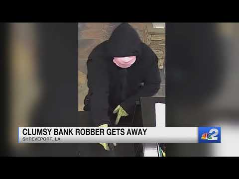 Curtis - Is This The Clumsiest Bank Robber Of All Time?