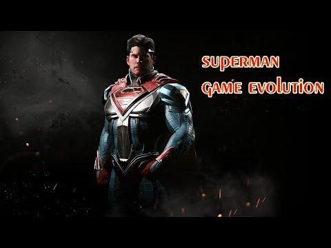 Evolution of Superman Games 1978 - 2017