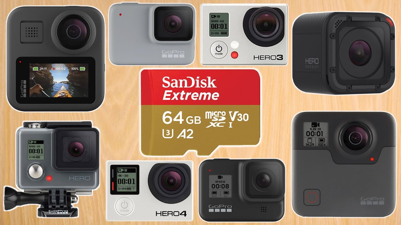 Best Memory Card for GoPro Cameras – Choosing the Best Micro SD Card for Video on GoPro Cameras