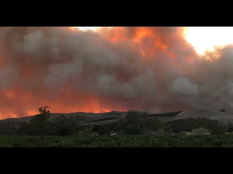Alisal Fire in California Consumes 6000 Acres in 24 Hours