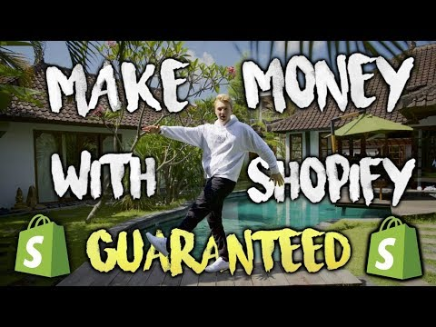 How To Ensure That You Make Money With Shopify (GUARANTEED)