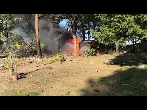 فيديو: تحطم مقاتلة إف-16 بلجيكية في فرنسا ونجاة طياريها  - نشر قبل 2 ساعة
